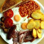 Prayer and full English breakfast