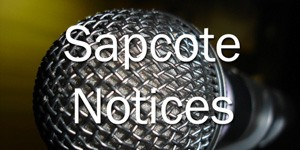 Sapcote Notices – 17th January 2016