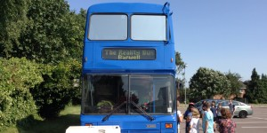 The Reality Blue bus comes to Barwell