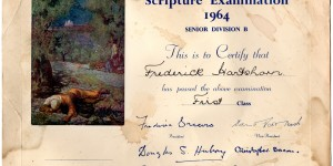 An old certificate
