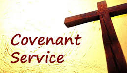 Revd Peter Hancock to lead annual Covenant Service.